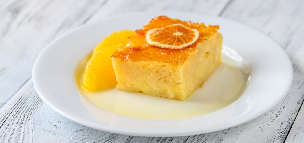 Greek orange pie